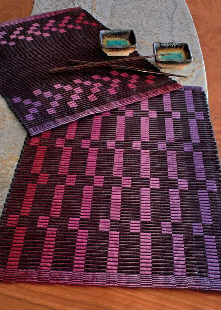 rep weave new or old what is rep weave new rep blocks rep weave placemat pattern 10 2 pearl cotton