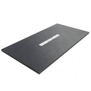 Buy Black Low Profile Slate And Brick Effect Shower Trays