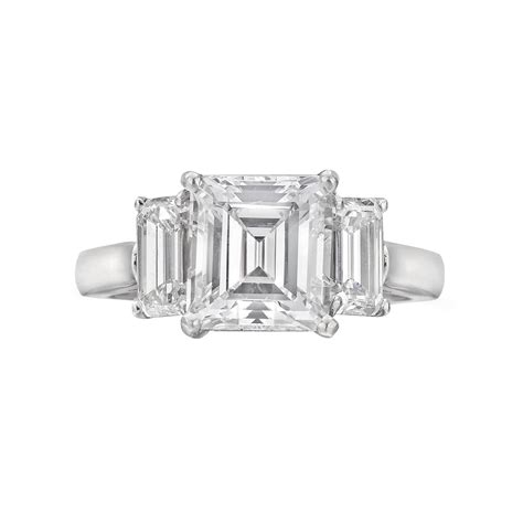 vintage emerald cut engagement rings hd