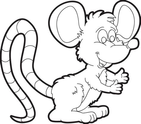 cartoon mouse coloring page cute mice pages coloring pages