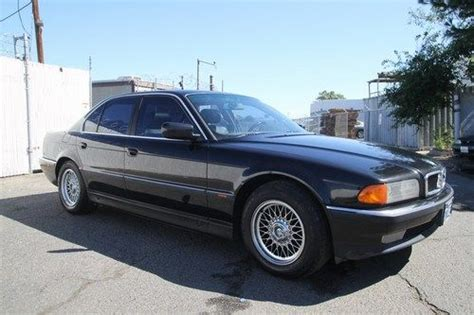 how to sell used cars 1997 bmw 8 series lane departure warning sell used 1997 bmw 740i automatic 8 cylinder no reserve in