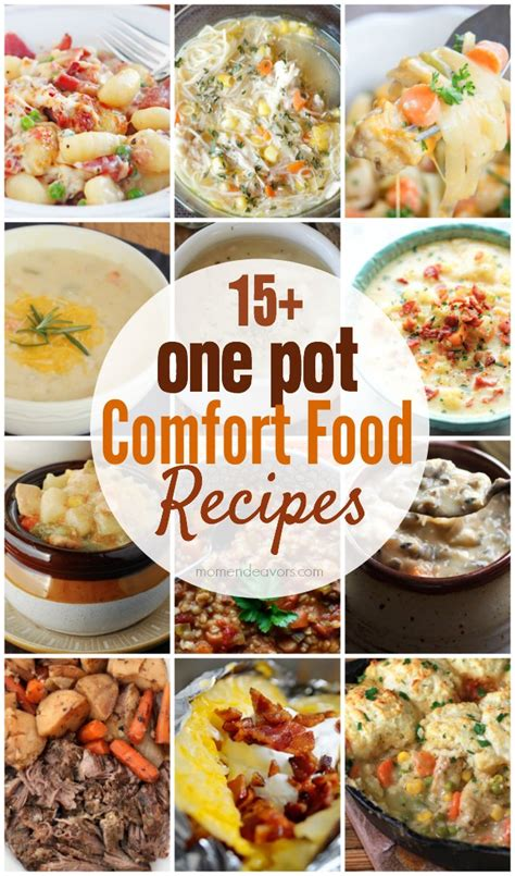 15 one pot comfort food recipes