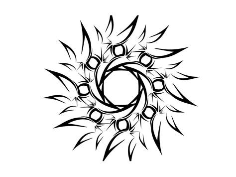 free tribal tattoo designs simple designs free designs tribal sun