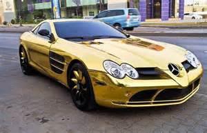 Golden Mercedes Some Keep Gold In Their Garage The Mercedes C63 Amg