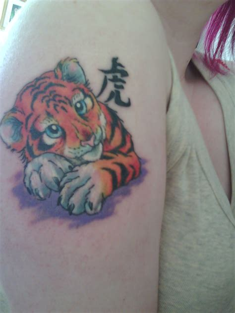 tiger cub tattoo designs 20 awesome tiger tattoos designs magment