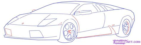 how to draw a sports car step by step how to draw a lamborghini step by step cars draw cars