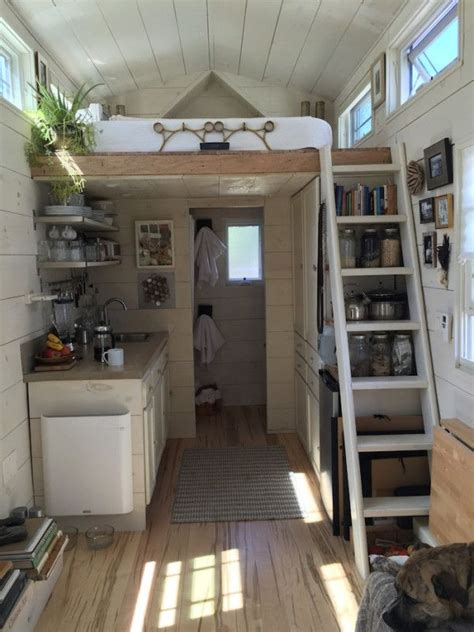 interior of tiny house house