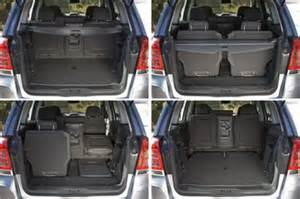 Opel Zafira 7 Seater Luggage Capacity Fiche Technique Opel Zafira Ii 1 9 Cdti120 Fap Magnetic