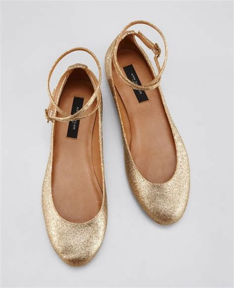 Golden Flats by Best 25 Gold Dress Shoes Ideas On Gold