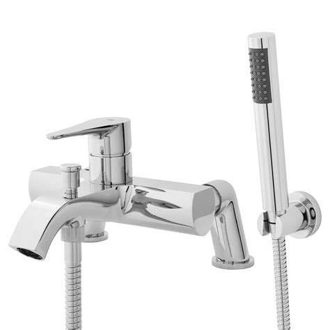 bathroom wall mixer ellis bath shower mixer deck or wall mounted the