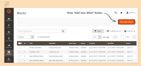 magento custom layout update static block how to create a cms static block in magento 2 0 belvg blog