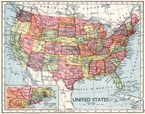 united states road conditions map antique us map 1930s united states map with by