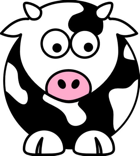 cow clipart black cow clip at clker vector clip