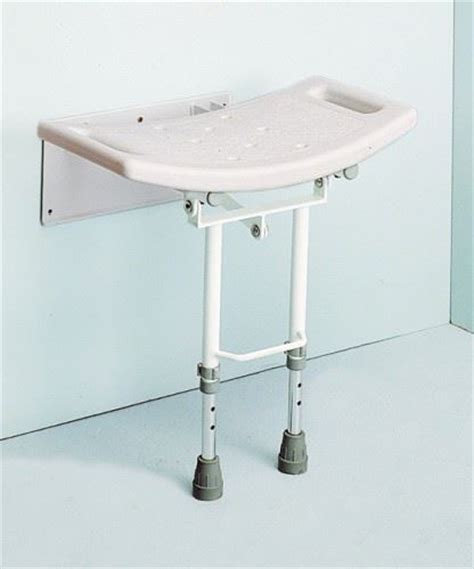 Wall Mounted Folding Stool by Wall Mounted Folding Adjustable Shower Seat Bathroom Stool