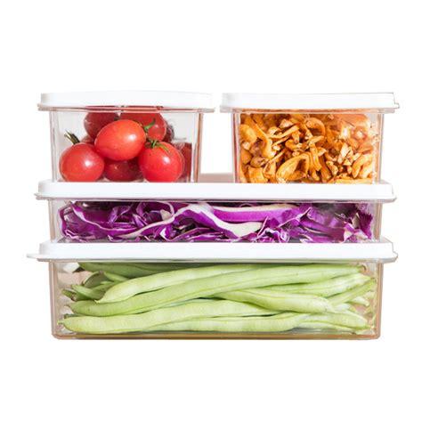 Xiaomi Mi Bunny Snack Canister Storing Jar kcasa kc sb06 stackable refrigerator fridge freezer storage box stack food container tray