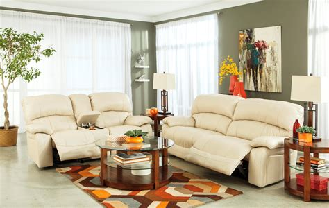 Furniture Living Room by Damacio Power Reclining Living Room Set From