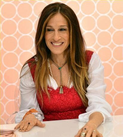 by a fan on twitter sarah jessica parker e online sarah jessica parker in house of lavande vintage necklace