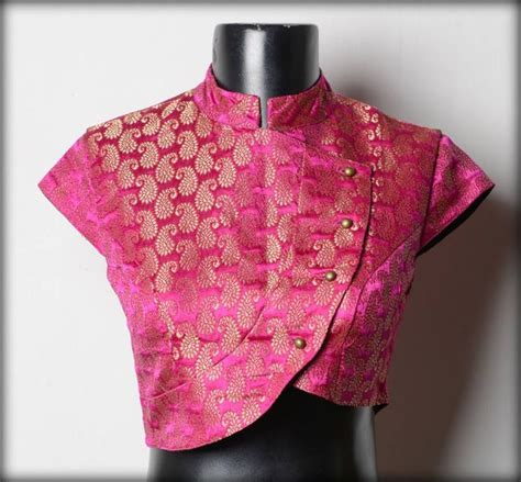jacket neck design elegant top best designer blouse designs for pattu sarees