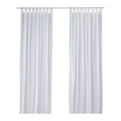 Ikea White Curtains Matilda Sheer Curtains 1 Pair Ikea