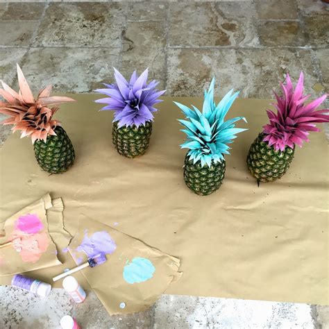 Ideas For Pineapple Outdoor Lights Design And The Pursuit Of Shoes Pretty Painted Pineapples