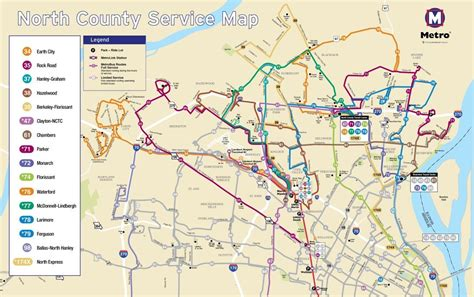 Boeing Locations Map Business Stltoday by Changes Coming To 48 Metro Bus Routes Next Month
