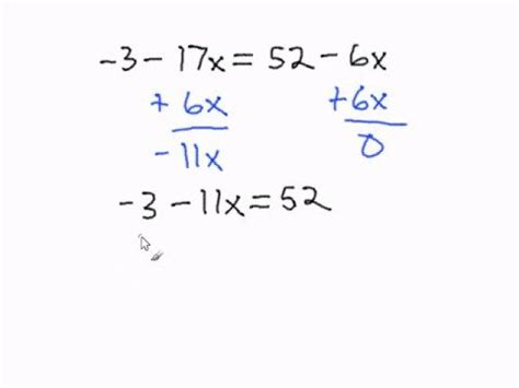 Multi Step Equations Worksheet Variables On Both Sides by Solving Multi Step Equations With Variables On Both Sides