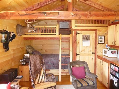 pictures  cabins interior trophy amish cabins llc