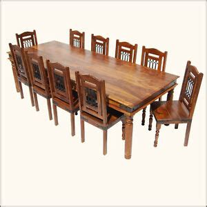 pc large family dining table amp chairs set   big