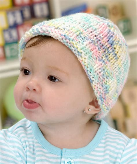easy to knit baby hat sweet baby hat knitting pattern