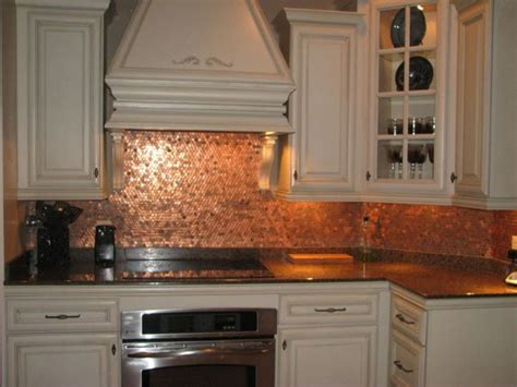 copper kitchen backsplash ideas best 20 pennies floor ideas on pinterest penny flooring