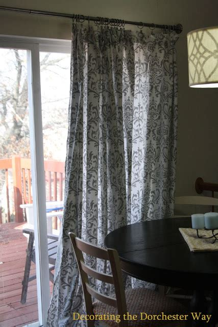 Decorating The Dorchester Way Patio Door Extra Wide Curtains Wide Drapes For Patio Doors