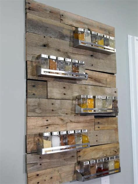 diy spice rack wall 25 best ideas about gew 252 rzregal holz on