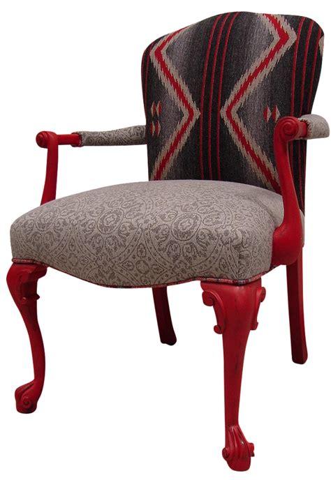 Aztec Chair by Custom Mult Fabric Aztec Accent Chair Chairish