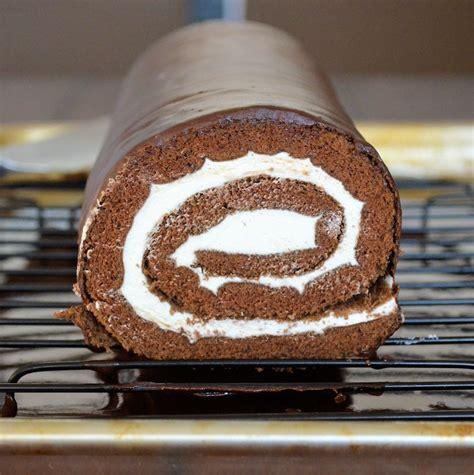 Swiss Roll Cake chocolate swiss roll