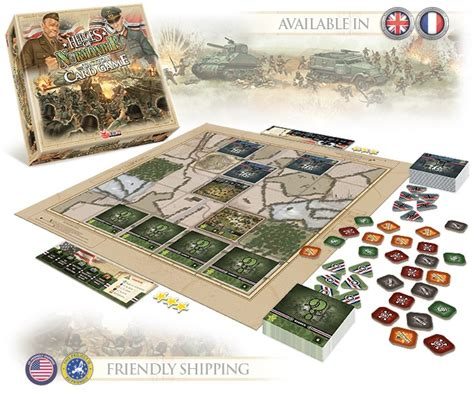 board game layout software devil pig games launches heroes of normandie card game