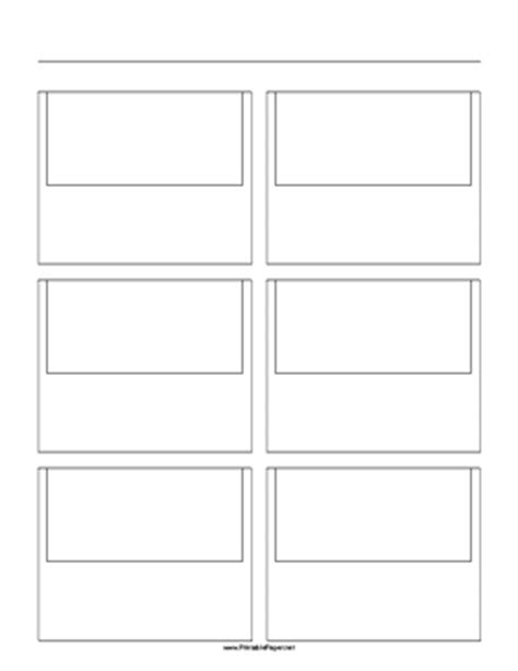 printable paper net storyboard filmmakers animators web developers and others use