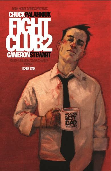 Fight 1 Paperback fight club 2 bam exclusive variant by chuck palahniuk