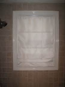water proof shade for shower window remodel