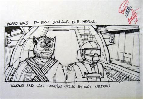 star wars storyboards star wars storyboard