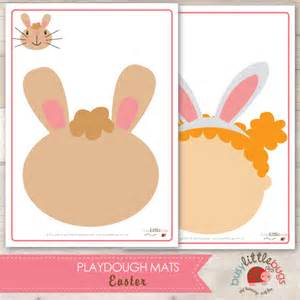 Play Dough Mats by Play Dough Easter And Play Dough Mats On