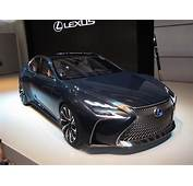 Lexus Fuel Cell Car Likely To Be Based On New LS Luxury Sedan
