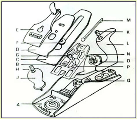 bench plane parts anant carpentry tools spare parts