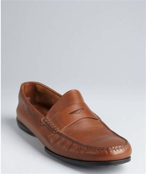 light brown loafers tod s light brown leather new loafers in
