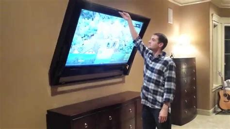 automate around your windows with tv lifts and more nexus 21 tv in ceiling mount motorized beautiful flip down ceiling