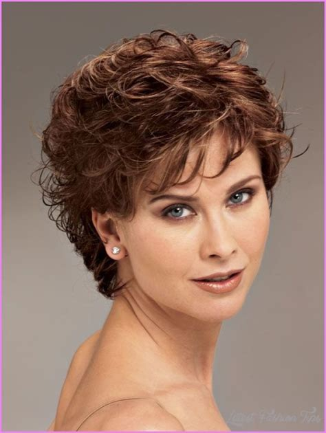 haircuts hairstyles com short haircut for women with curly hair