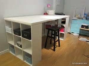 craft room table from an door craft diy