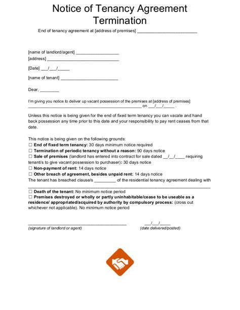 tenancy letter templates
