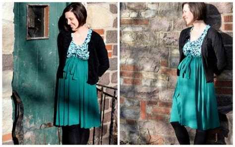 Patron Robe Empire Femme Enceinte - une robe taille empire pour la grossesse ou non
