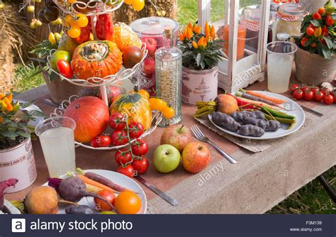 fruit table display vegetable and fruit display table at the malvern autumn