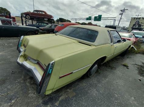 oldsmobile toronado brougham stock   sale